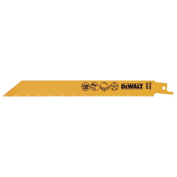 Laminas de Serra Sabre Bi-metal DT2387 5 Uni DEWALT