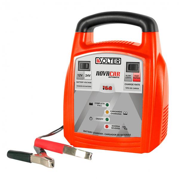 Carregador de Baterias NOVOCAR 16A SOLTER