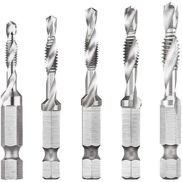Conjunto Brocas Roscadoras de M4 a M10 DT50060 EXTREME DEWALT