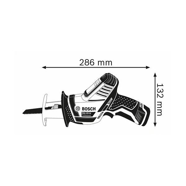 Serra sabre sem fio GSA 12V-14 BOSCH