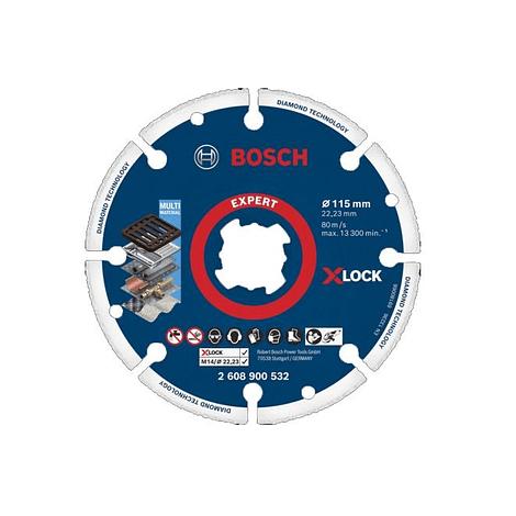 Disco de corte X-LOCK 115mm EXPERT Diamond Metal Wheel BOSCH
