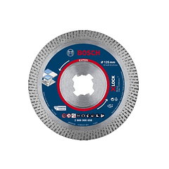 Disco de corte 125mm para Cerâmicos Duros X-LOCK EXPERT HARDCERAMIC BOSCH