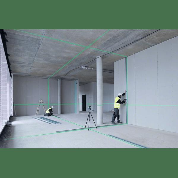 Nivel laser 3 Linhas Verdes Bosch GLL 3-80 CG + BM1 Professional
