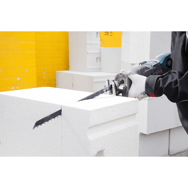 Lamina de serra sabre para betão poroso S 1241 HM Endurance for Aerated Concrete BOSCH