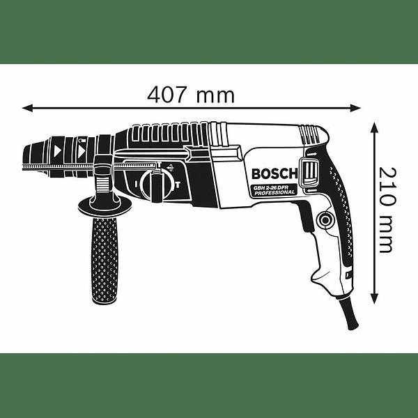 Martelo perfurador SDS Plus GBH 2-26 F BOSCH