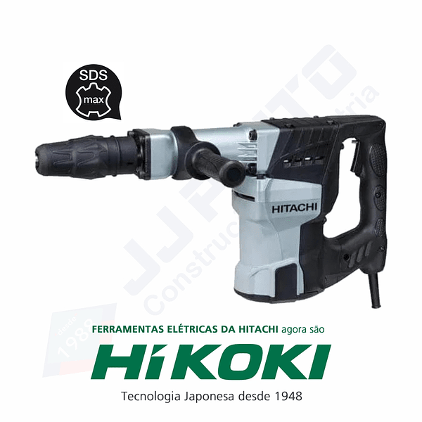 Martelo demolidor 11 Kg H60MC HIKOKI (ex Hitachi)