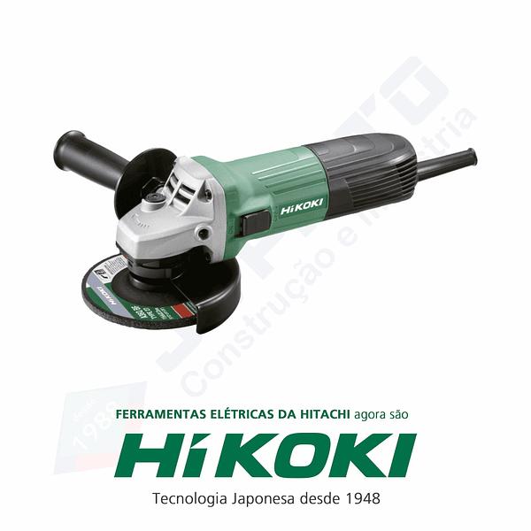 Rebarbadora pequena 600 W G12STA HIKOKI (ex HITACHI)
