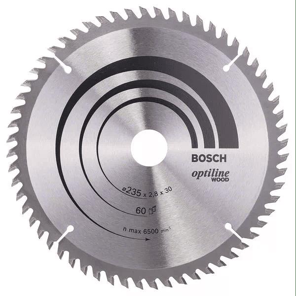 Discos de serra circular para madeira Optiline Wood BOSCH