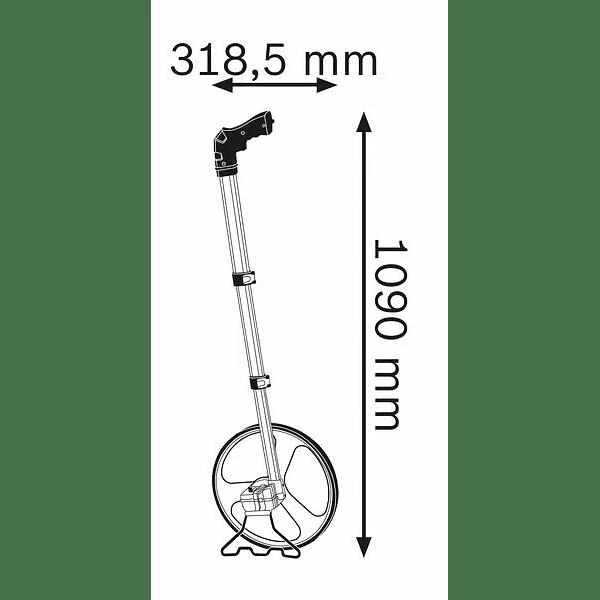 Roda de medição GWM 32 BOSCH