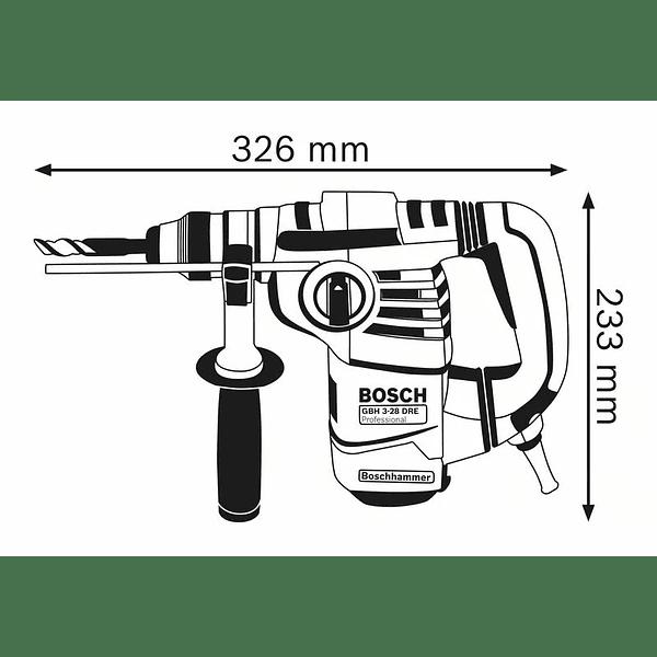 Martelo perfurador SDS Plus GBH 3-28 DRE BOSCH
