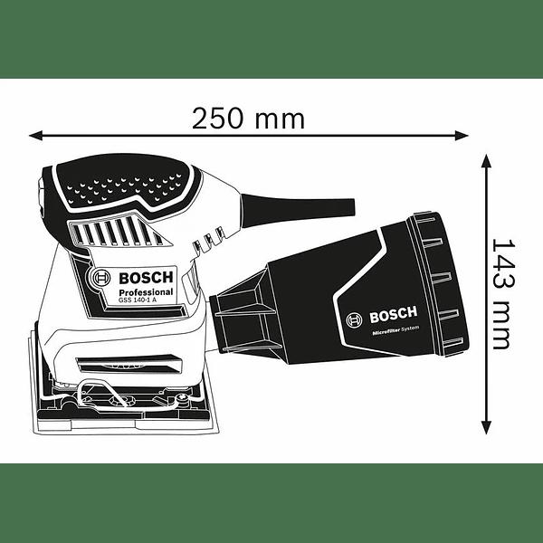 Lixadora vibratória GSS 140-1 A BOSCH