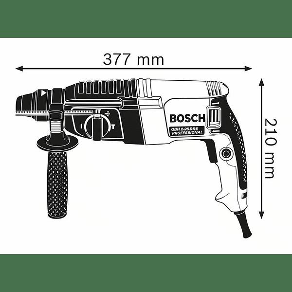 Martelo perfurador GBH 2-26 BOSCH