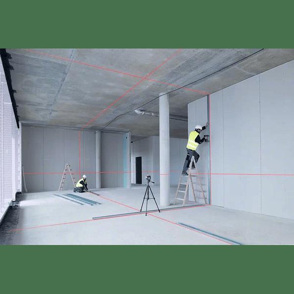 Nivel laser 3 linhas vermelhas BOSCH GLL 3-80 C + BM1 Professional