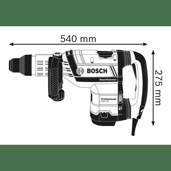 Martelo demolidor SDS Max GSH 7 VC BOSCH