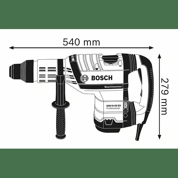 Martelo perfurador SDS Max GBH 8-45 DV BOSCH