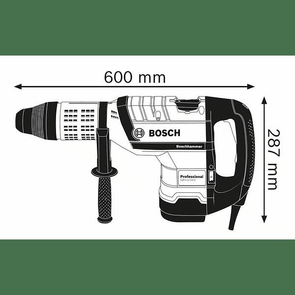 Martelo perfurador SDS Max GBH 12-52 D BOSCH