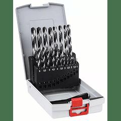 Conjunto de brocas para metal HSS PointTeQ BOSCH (19 brocas)