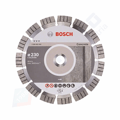Disco de corte de diamante para betão 230mm Best for Concrete BOSCH