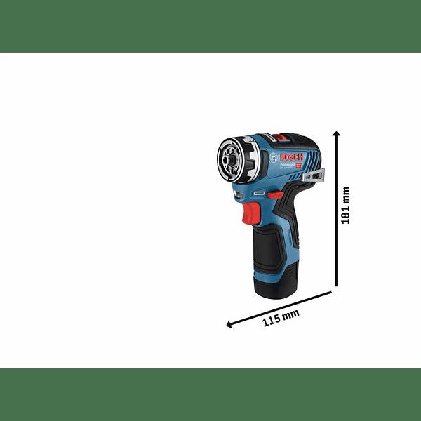 Aparafusadora sem escovas a bateria 12V - 5 em 1 GSR 12V-35 FC BOSCH