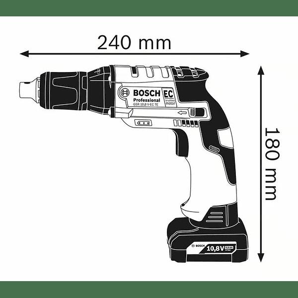 Aparafusadora de pladur a bateria 12 Volts GTB 12V-11 BOSCH