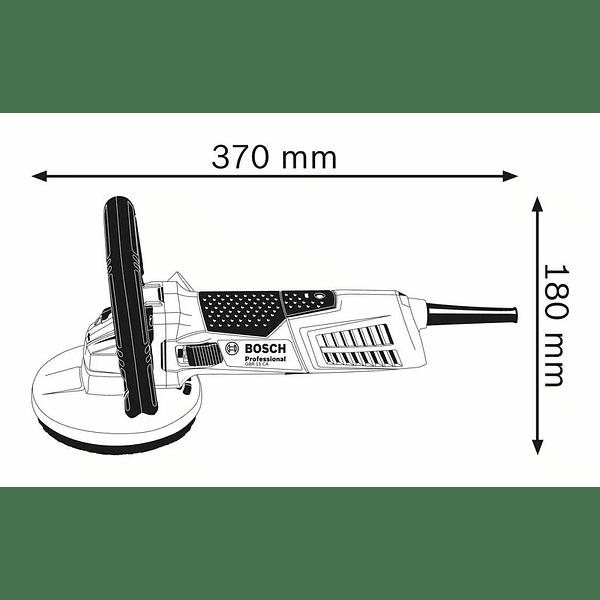 Lixadeira de betão GBR 15 CA BOSCH