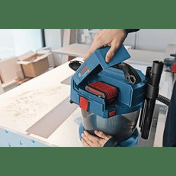 Aspirador a bateria 18 Volts GAS 18V-10L BOSCH