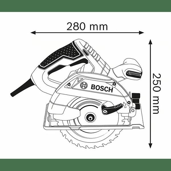 Serra circular manual GKS 165 BOSCH