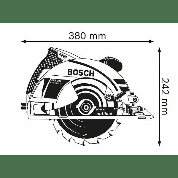 Serra circular manual GKS 190 BOSCH