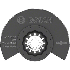 Lâmina de serra de segmentos BIM ACZ 85 EB Madeira e Metal BOSCH