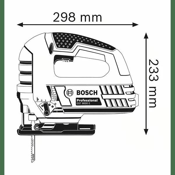 Serra vertical tico-tico GST 8000 E BOSCH