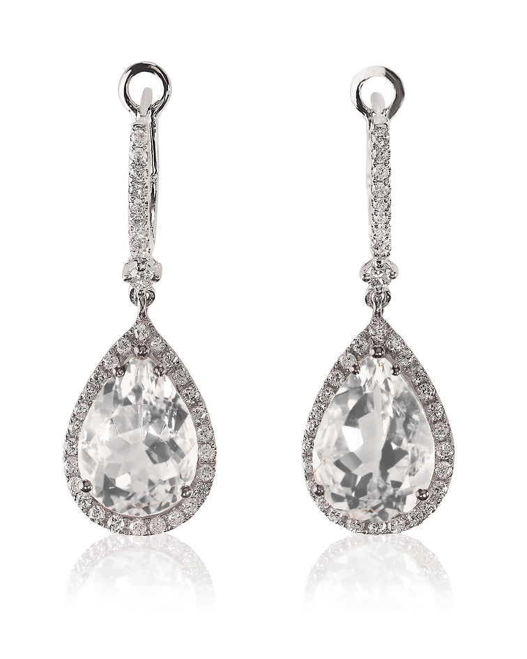 Diamond Drop Earrings 2