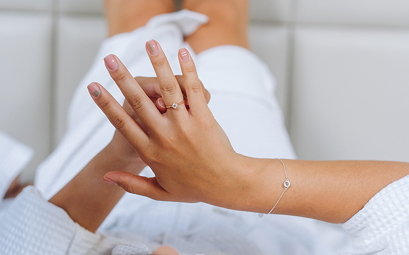 What to do when a ring is stuck on your finger