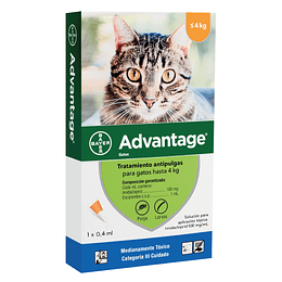 ADVANTAGE GATOS HASTA 4 K.