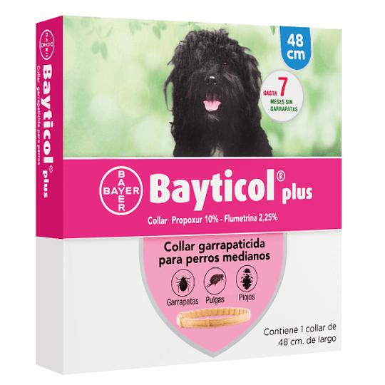 BAYTICOL PLUS PERROS MEDIANOS 48 CM.