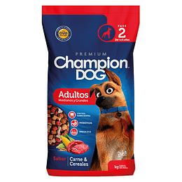 CHAMPION DOG ADULTOS MEDIANOS Y GRANDES 18 K.