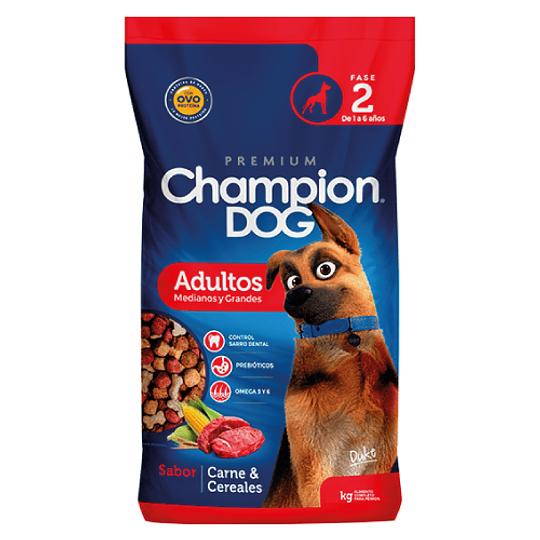 CHAMPION DOG ADULTOS MEDIANOS Y GRANDES 18 K.