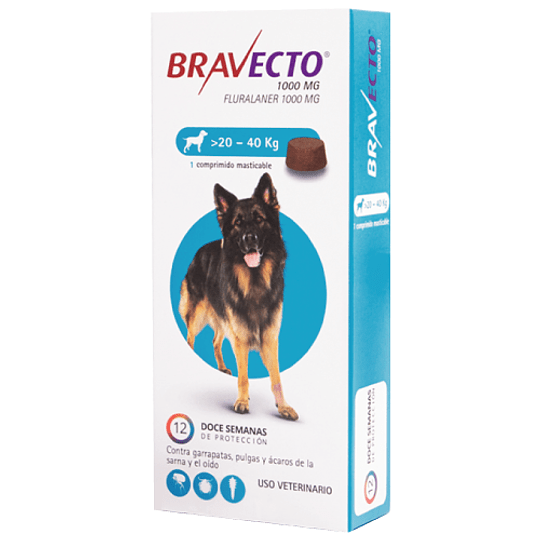 BRAVECTO >20 - 40 K.