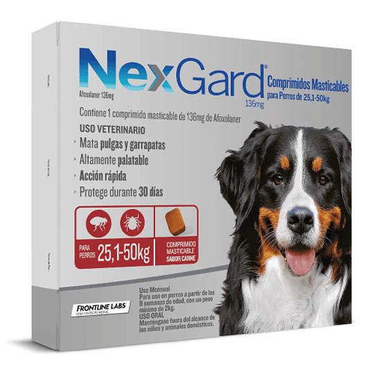 NEXGARD 1 COMPRIMIDO 25.1 - 50 K.