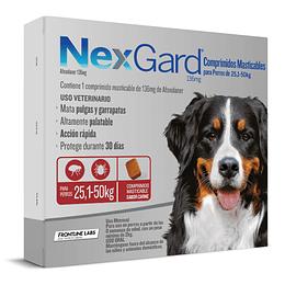 NEXGARD 3 COMPRIMIDOS 25.1 - 50 K.