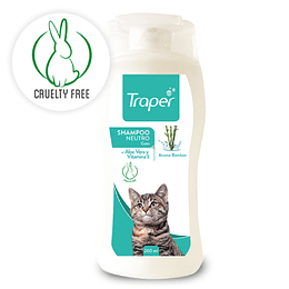 SHAMPOO NEUTRO GATO 260 ML.