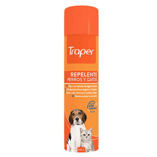 REPELENTE AEROSOL PERROS Y GATOS 440 ML.
