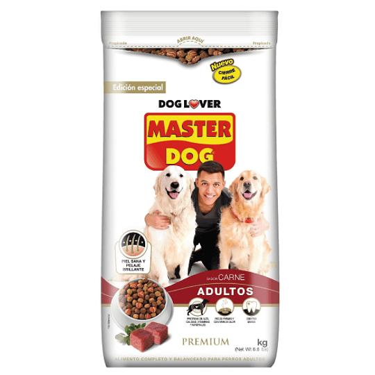 MASTER DOG ADULTOS CARNE 18 K.