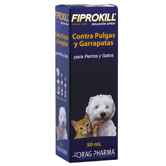 FIPROKILL SPRAY 50 ML.