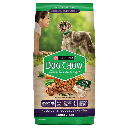 DOG CHOW LONGEVIDAD 7+ TODOS LOS TAMAÑOS