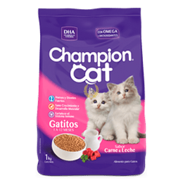 CHAMPION CAT GATITOS 8 K.