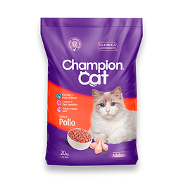 CHAMPION CAT POLLO 20 K.