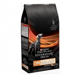 PROPLAN VETERINARY DIETS CANINE OM 1.5 K.
