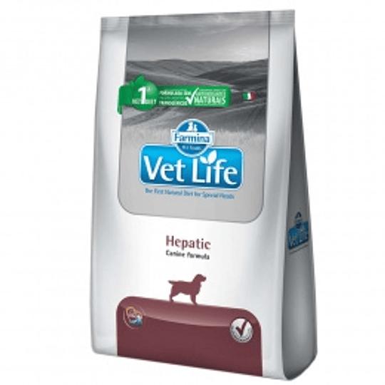 VET LIFE HEPATIC CANINO 2 K.