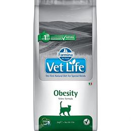 VET LIFE OBESITY FELINO 2 K.