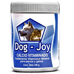 DOG-JOY CALCIO VITAMINADO 100 GRS.